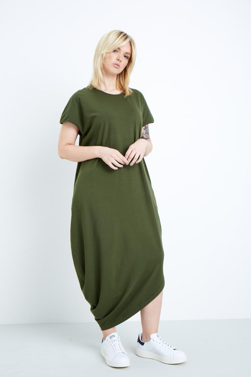 Universal Standard Geneva Dress Camo Coverstory