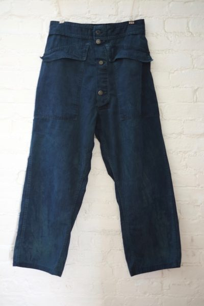 As Ever Tanker pant hand dyed indigo plus size coverstorynyc