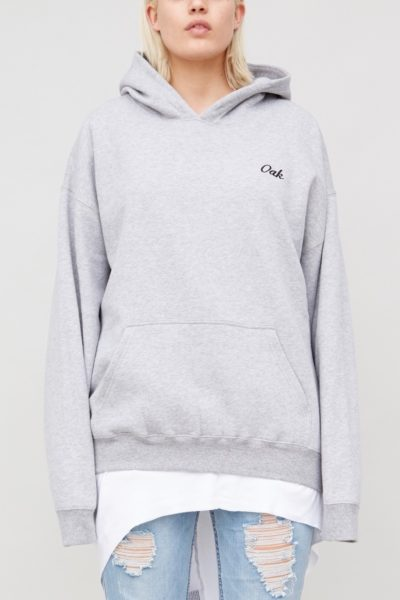 OAK signature hooded sweatshirt plus size CoverstoryNYC