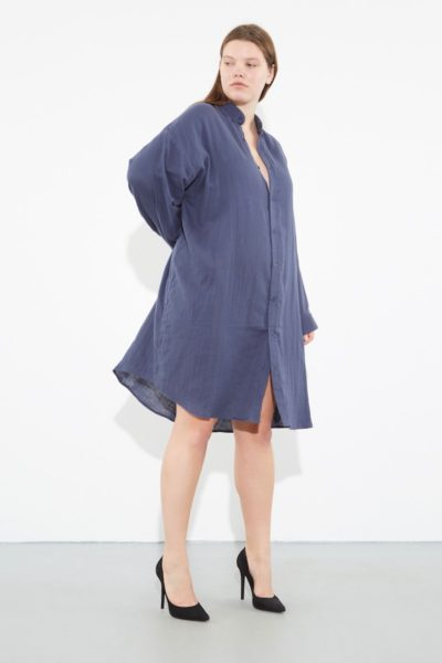 OAK giant shirt river plus size CoverstoryNYC