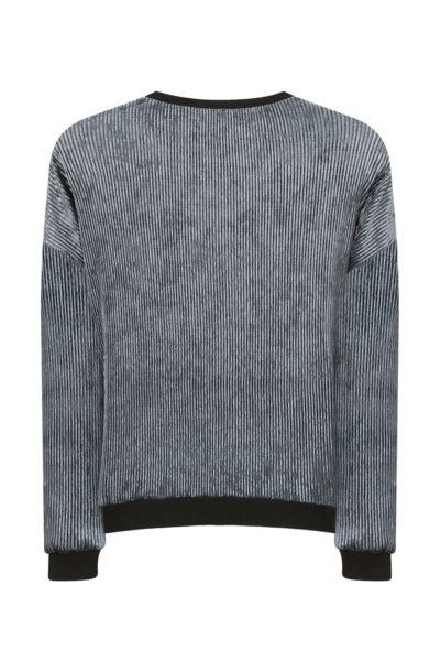 Elvi ribbed velvet sweater