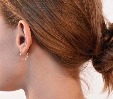 864 mini hoop earrings
