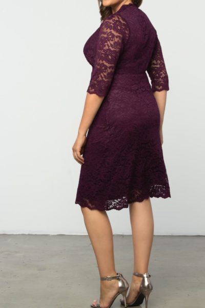 Kiyonna boudoir dress plus size