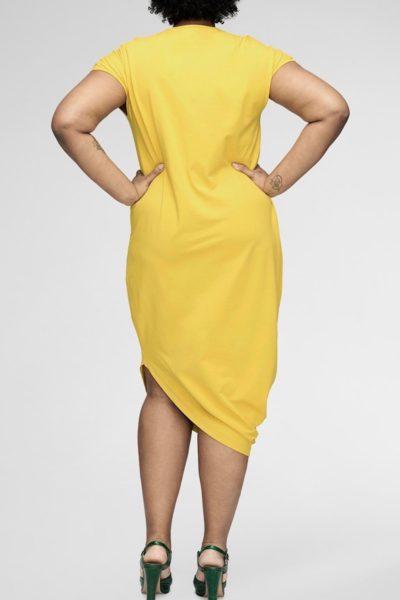 universal standard geneva dress plus size yellow CoverstoryNYC