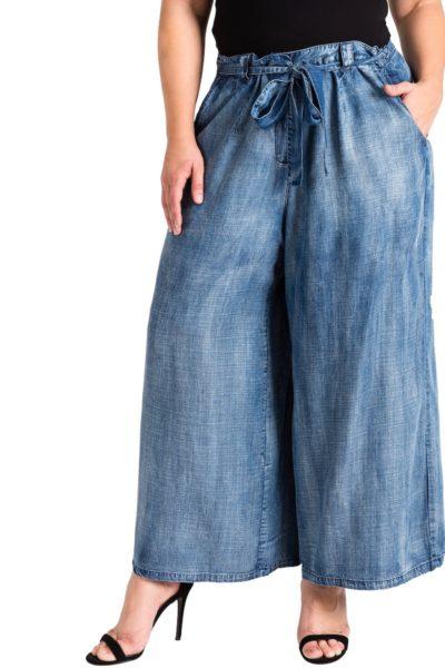 Standard & Practices Sophi Denim Culottes plus size
