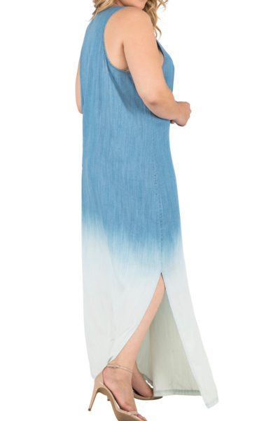 Standard & Practices Kori Maxi Denim Dress plus size