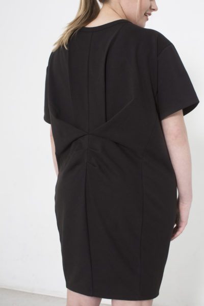 See Rose Go My Go-To Dress Black plus size