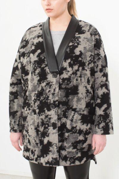 See Rose Go Kimono Cardigan camo plus size CoverstoryNYC