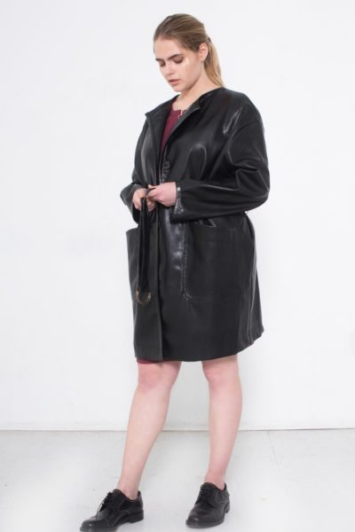 See Rose Go Statement Coat plus size CoverstoryNYC