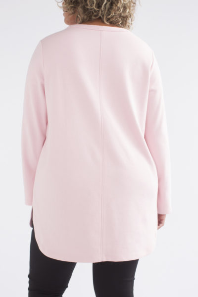 See Rose Go Peek-a-Boo Tunic Rose plus size CoverstoryNYC