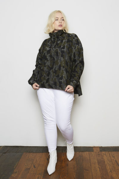 Shegul Maja Camo Sweatshirt plus size