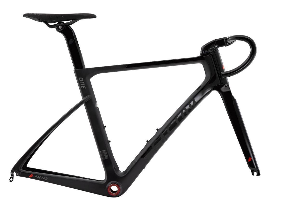 2017 Factor One Road Bike Frame Set 58cm Large Carbon Aero Stealth ...