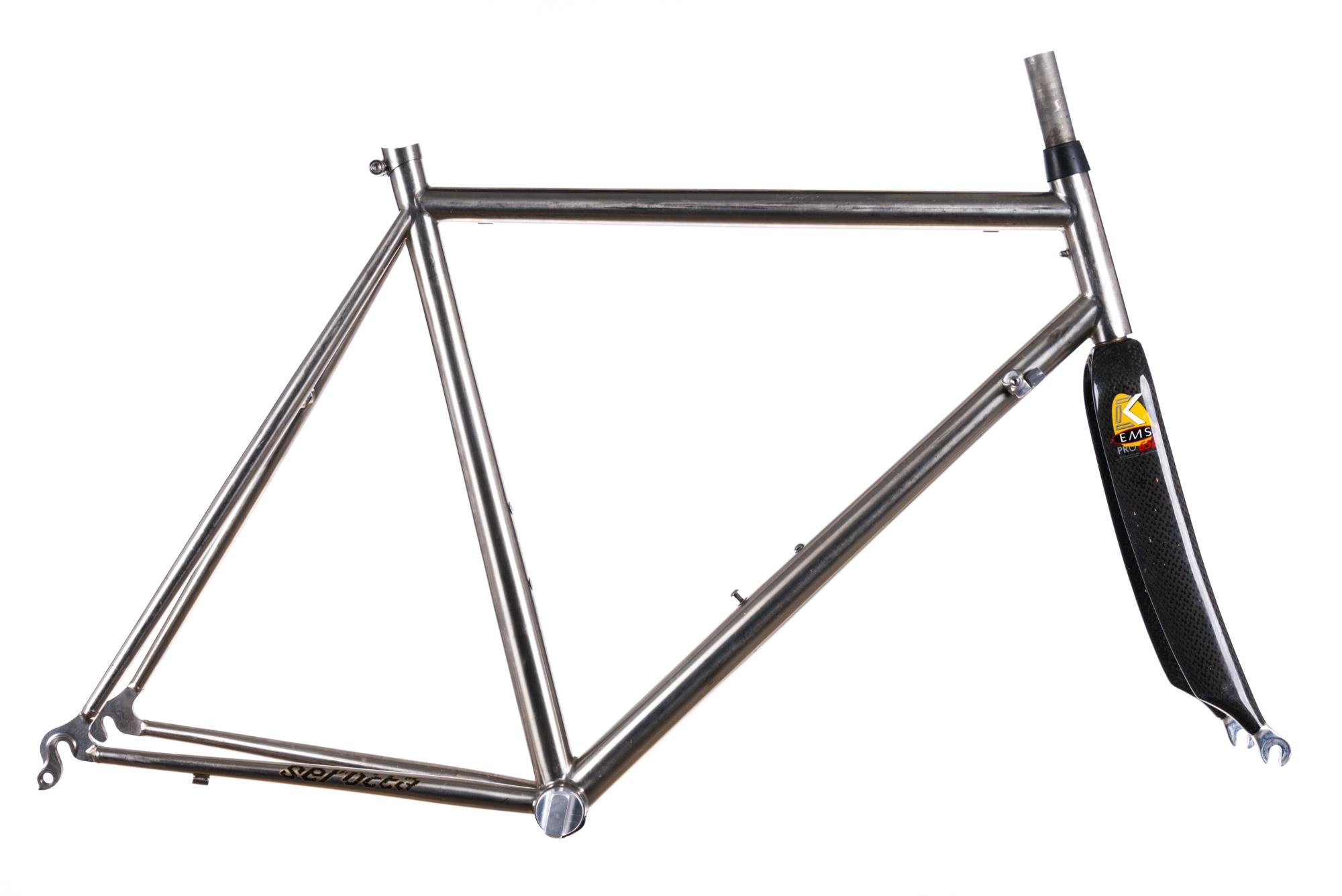 Vintage Serotta Custom Colorado II 650c Road Bike Frame Set 50cm ...