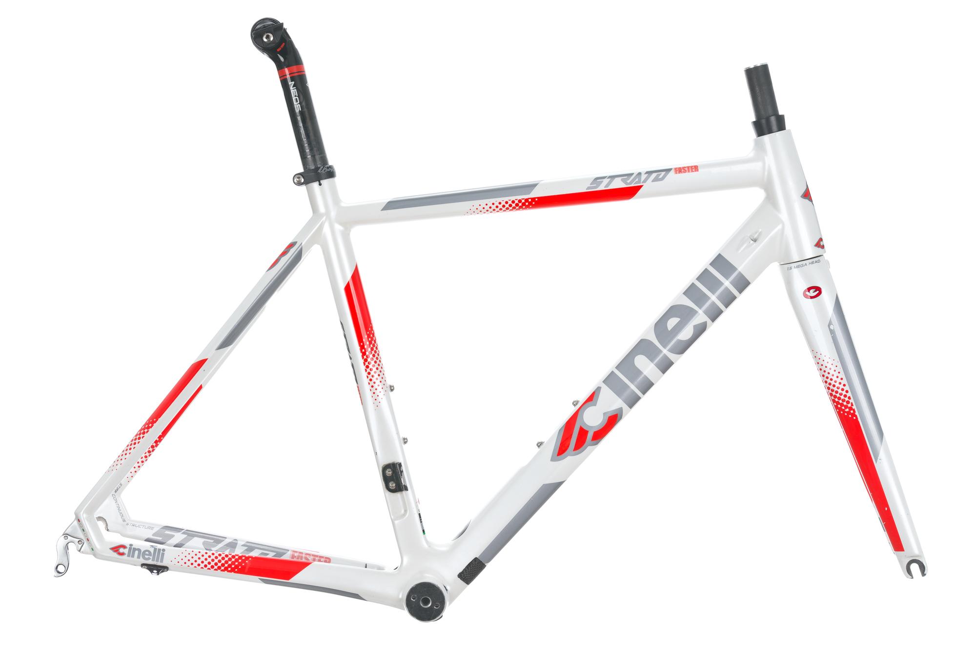 2016 Cinelli Strato Faster Road Bike Frame Set MEDIUM Carbon | eBay