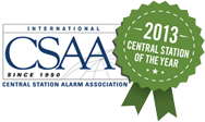 CSAA 2013 Central Station of the Year