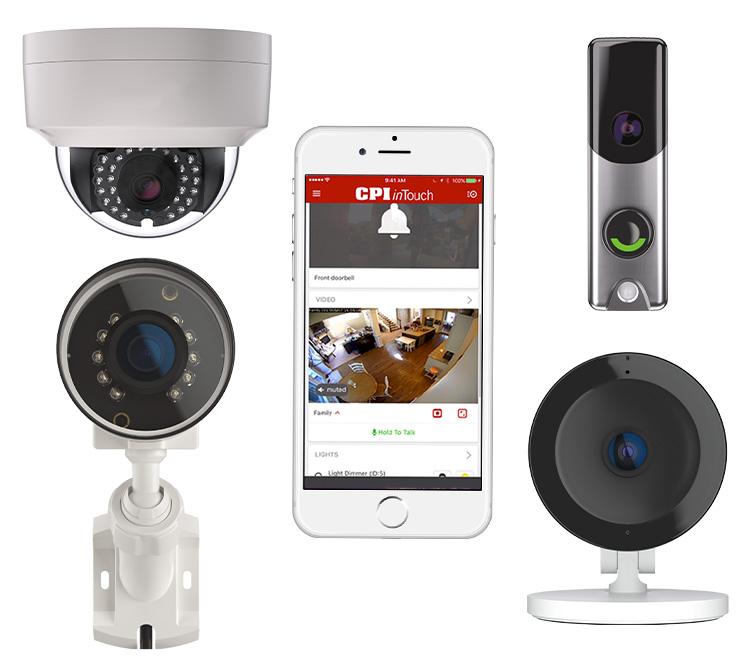 Cpi Security Doorbell Camera Cpi Security Home Security