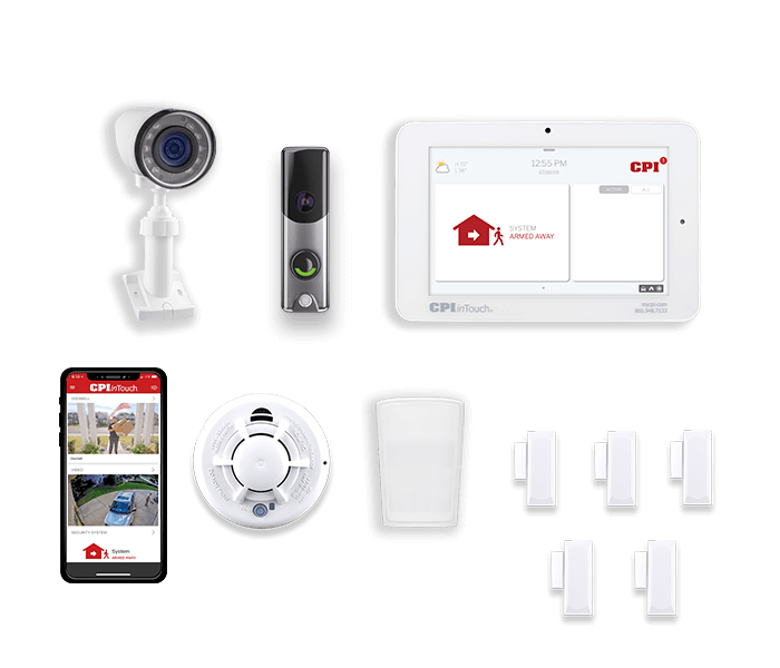 Home Security Systems From Cpi Security 800 387 8274 Alarm