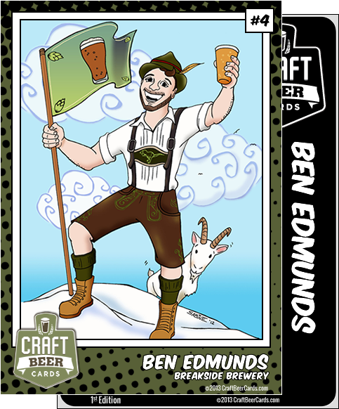 Ben Edmunds Trading Card