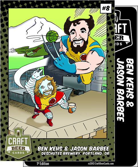 Ben Kehs and Jason Barbee Trading Card