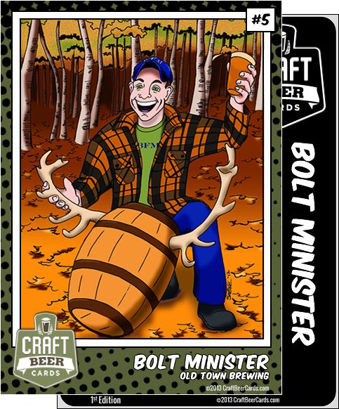 Bolt Minister Trading Card