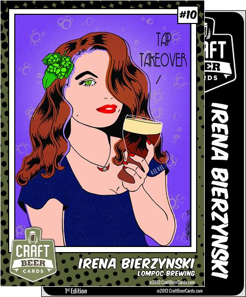 Irena Bierzynski Trading Card
