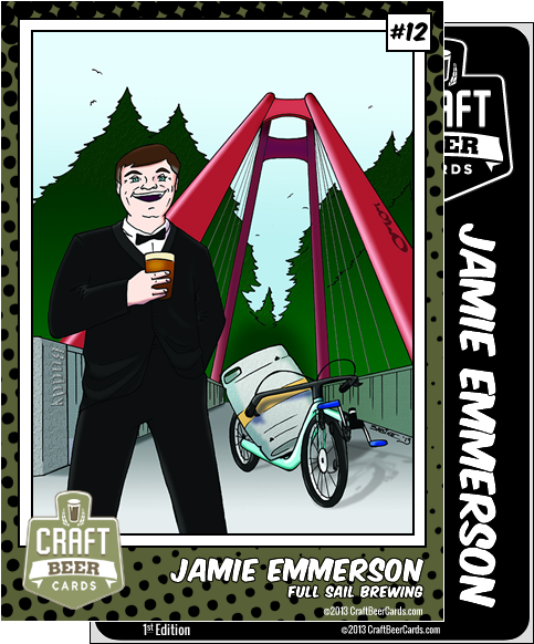 Jamie Emmerson Trading Card