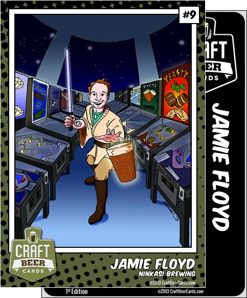 Jamie Floyd Trading Card