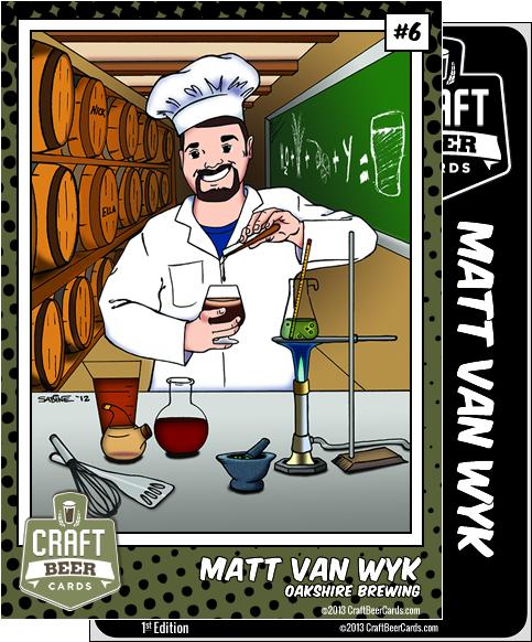Matt Van Wyk Trading Card