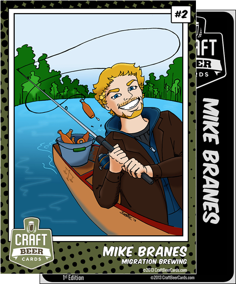 Mike Branes Trading Card