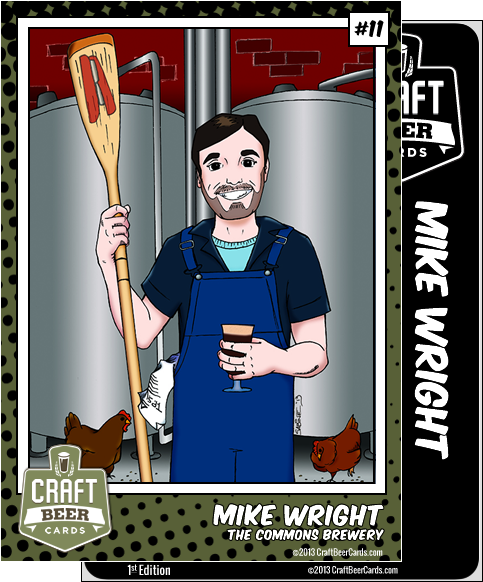 Mike Wright Trading Card