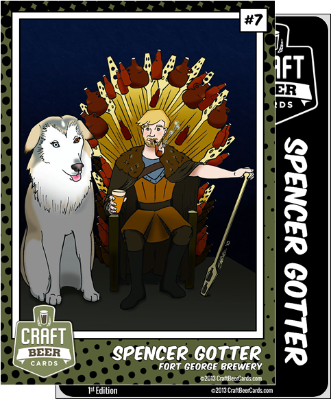 Spencer Gotter Trading Card