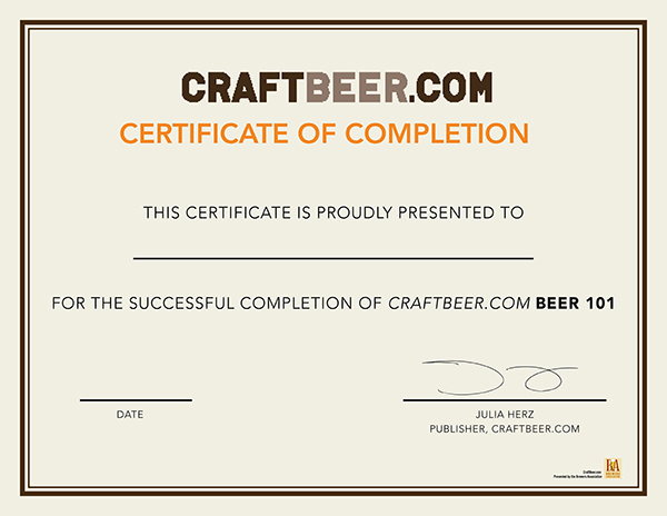 CraftBeer.com Beer 101 Course