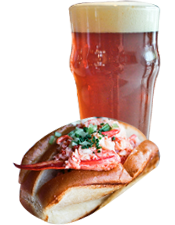 Lobster Roll and Summer Ale