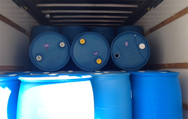Dogfish Rain barrels