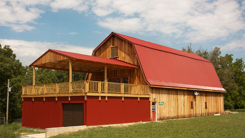 Piney River Barn