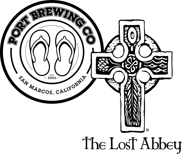 Port Brewing Lost Abbey dual logo
