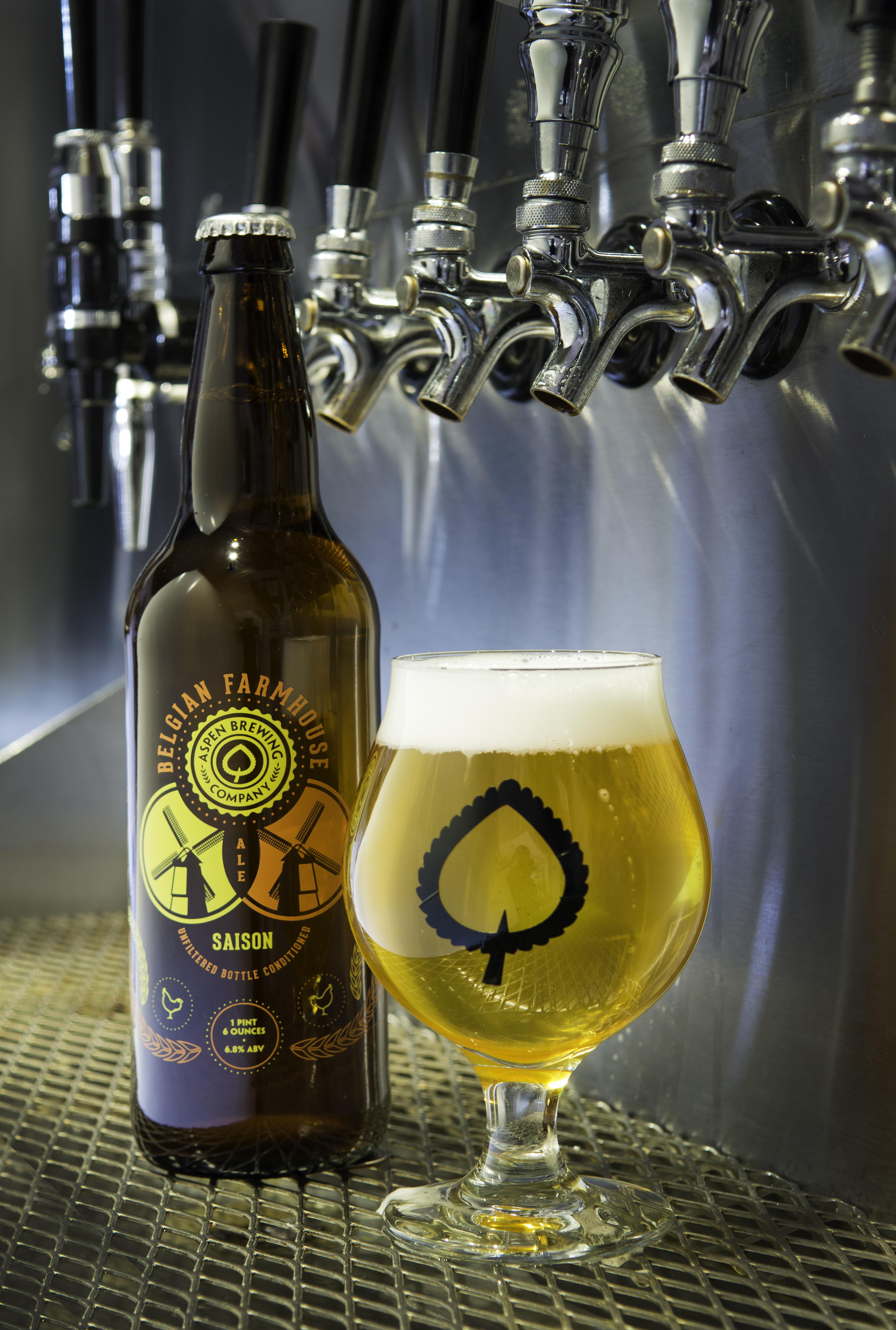 Aspen Brewing Company Belgian Farmhouse Saison