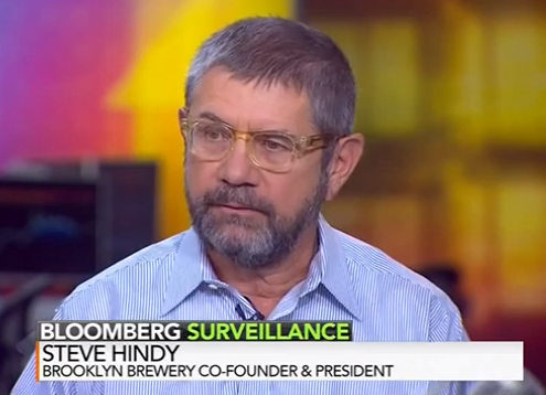 Steve Hindy on Bloomberg