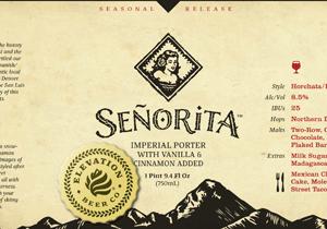 Elevation Beer Co. Señorita