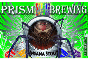Prism Brewing Insana Stout