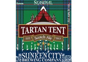 Sunken City Tartan Tent