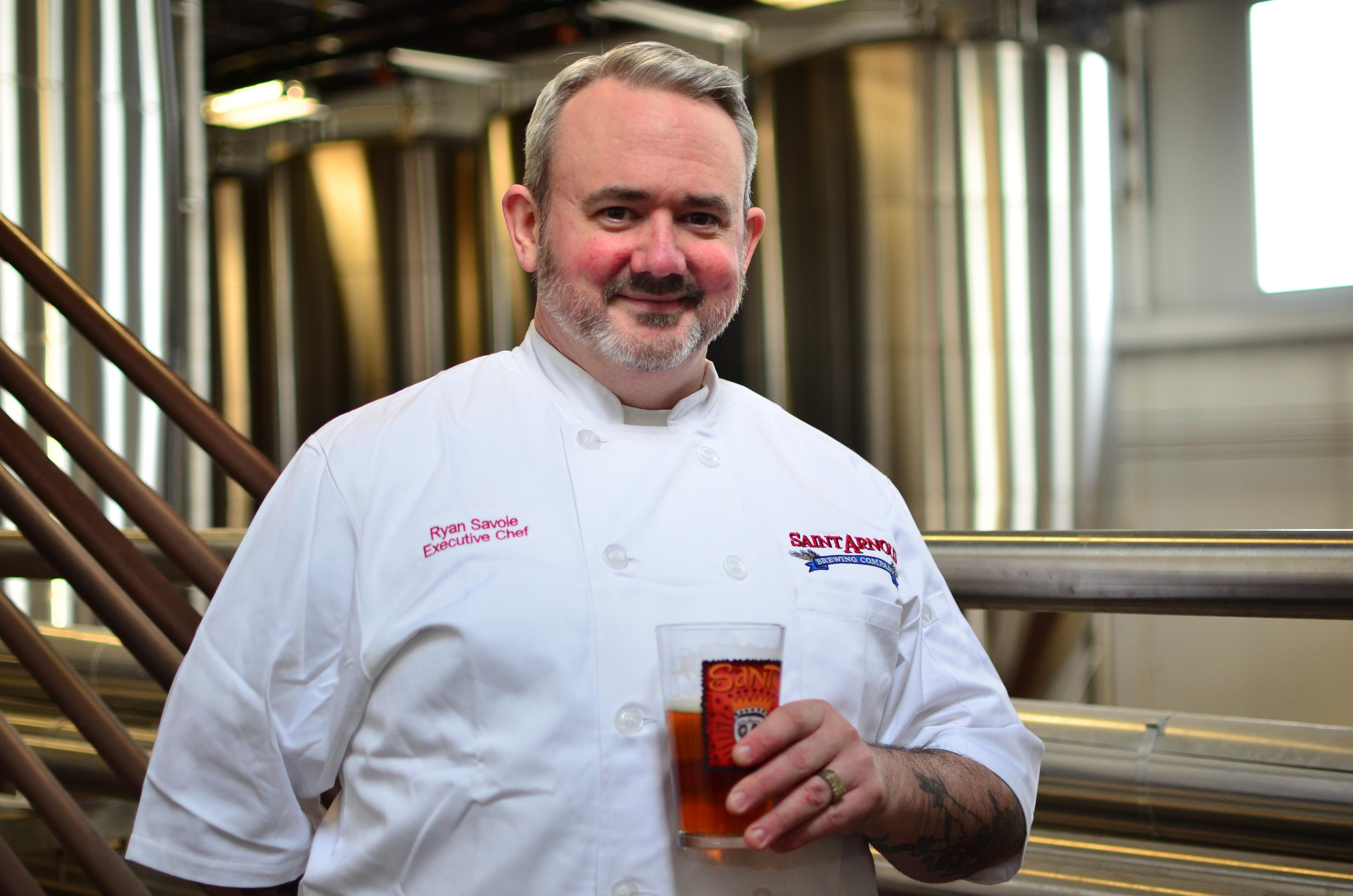 Saint Arnold Executive Chef Ryan Savoie