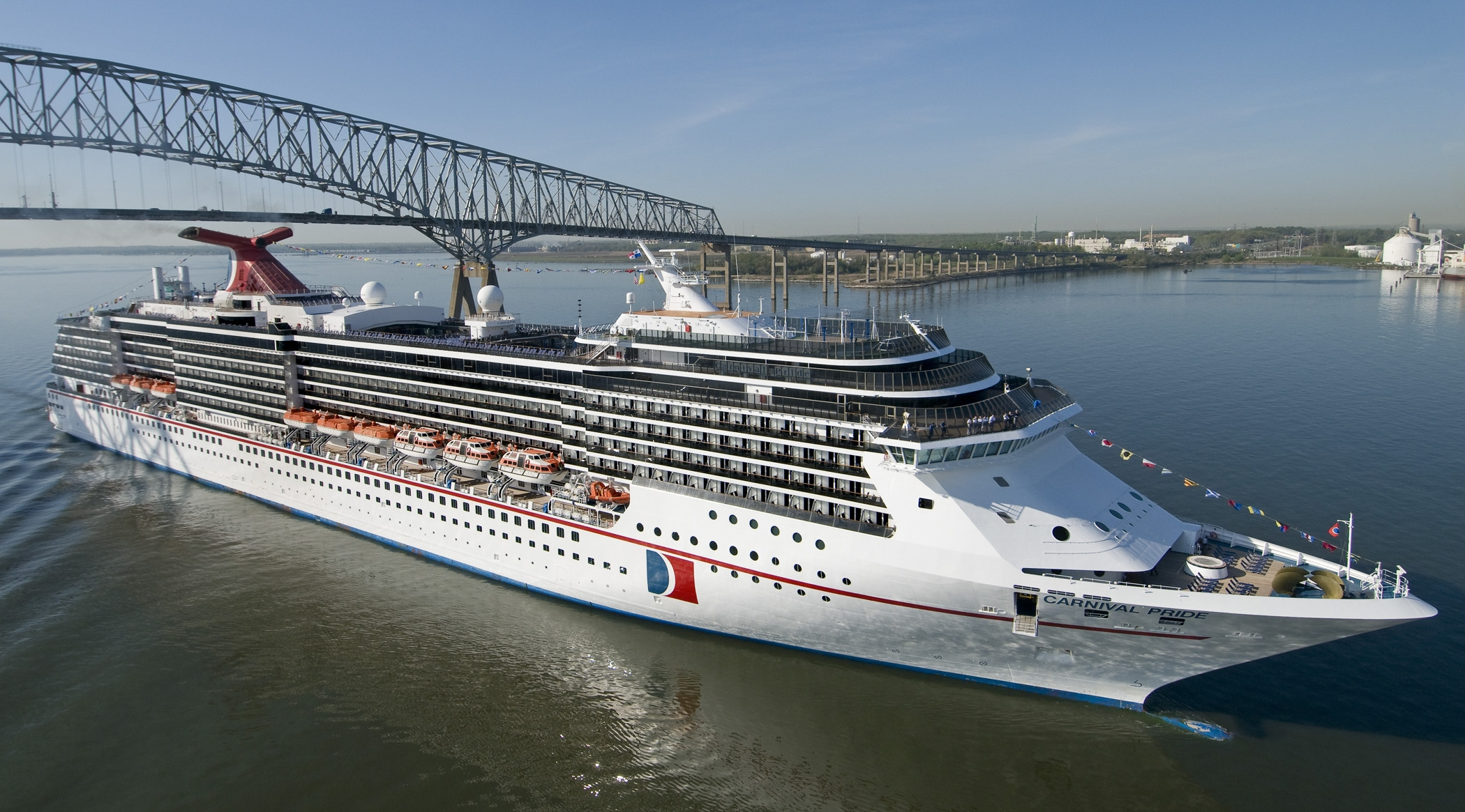 CARNIVAL CRUISE LINE ADDS BALTIMORES HEAVY SEAS BEER BRAND TO THE - How heavy is a cruise ship