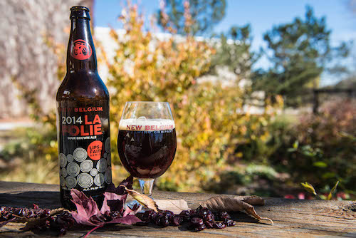 new belgium shares tips for pairing sour beer at thanksgiving