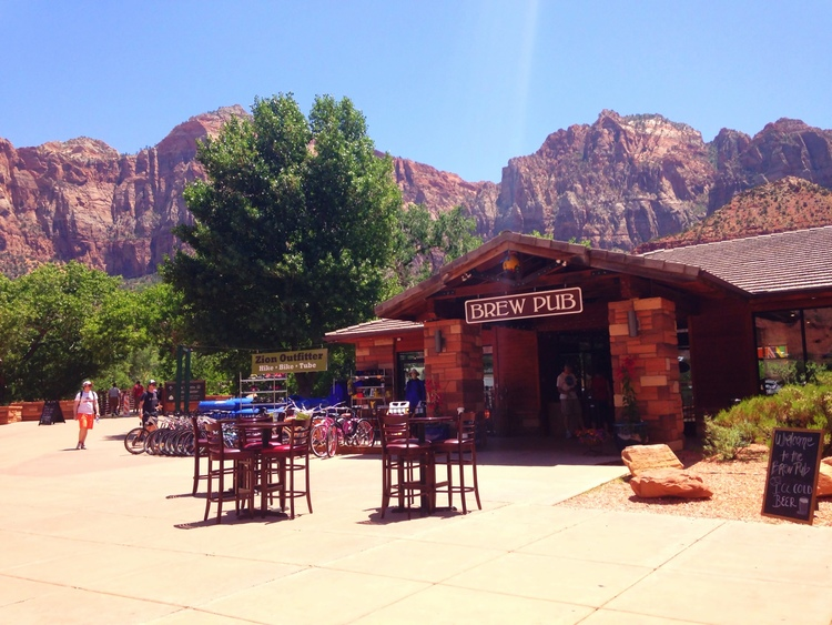 Zion canyon brew pub for Craft beer pubs near me