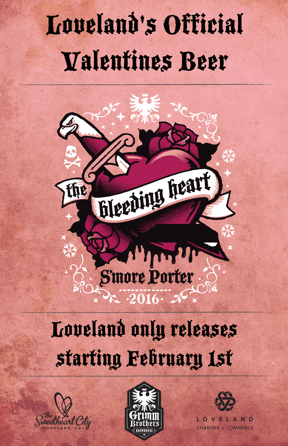 loveland co official valentines beer releases february 1st