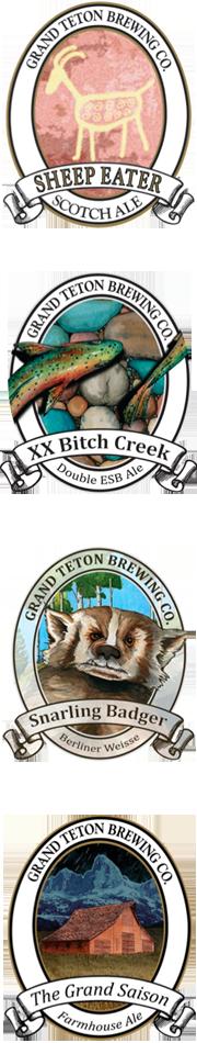 Grand Teton Beers