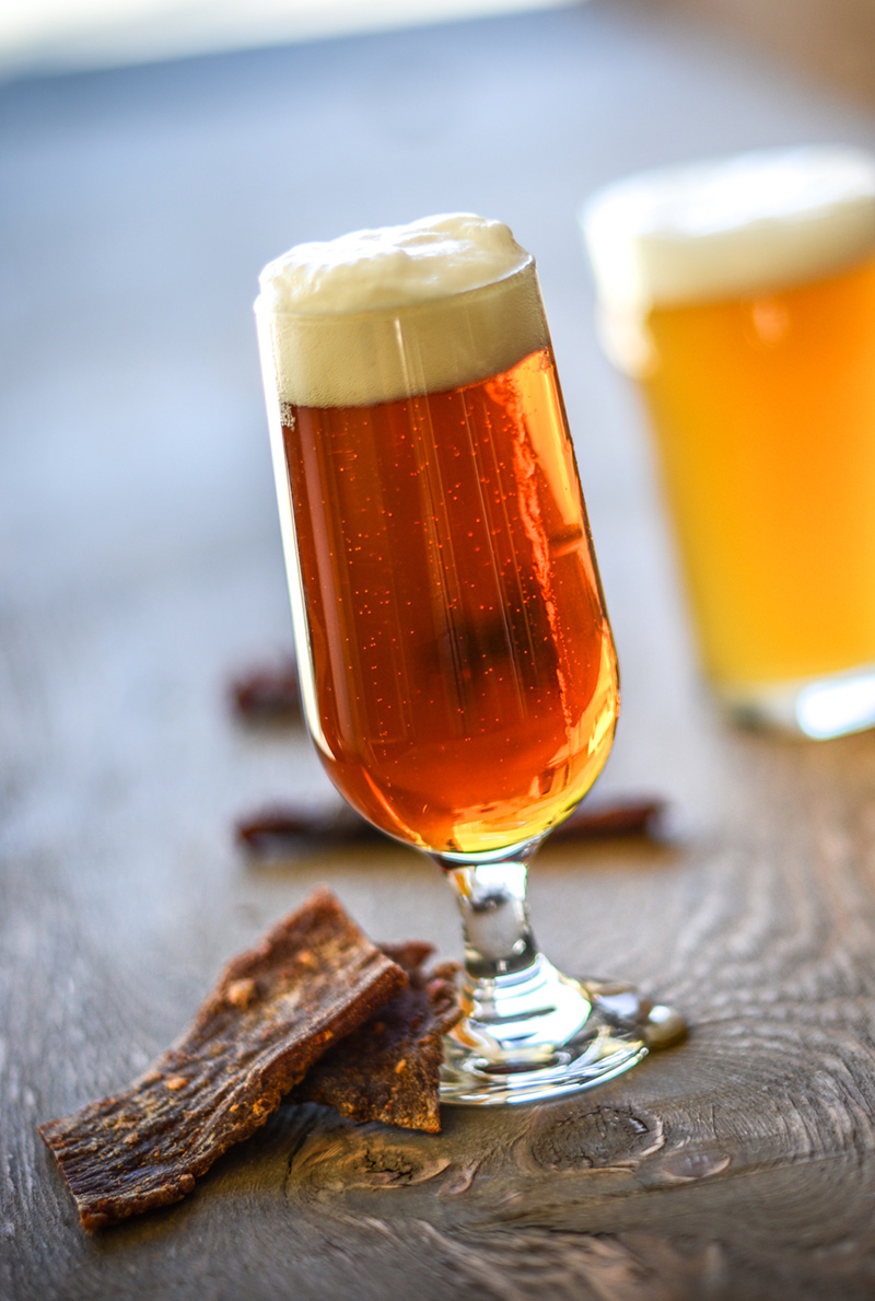 Craft beer meets craft jerky a match made in heaven for Craft beer and food