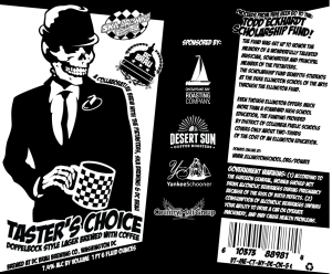 Tasters Choice Label Art