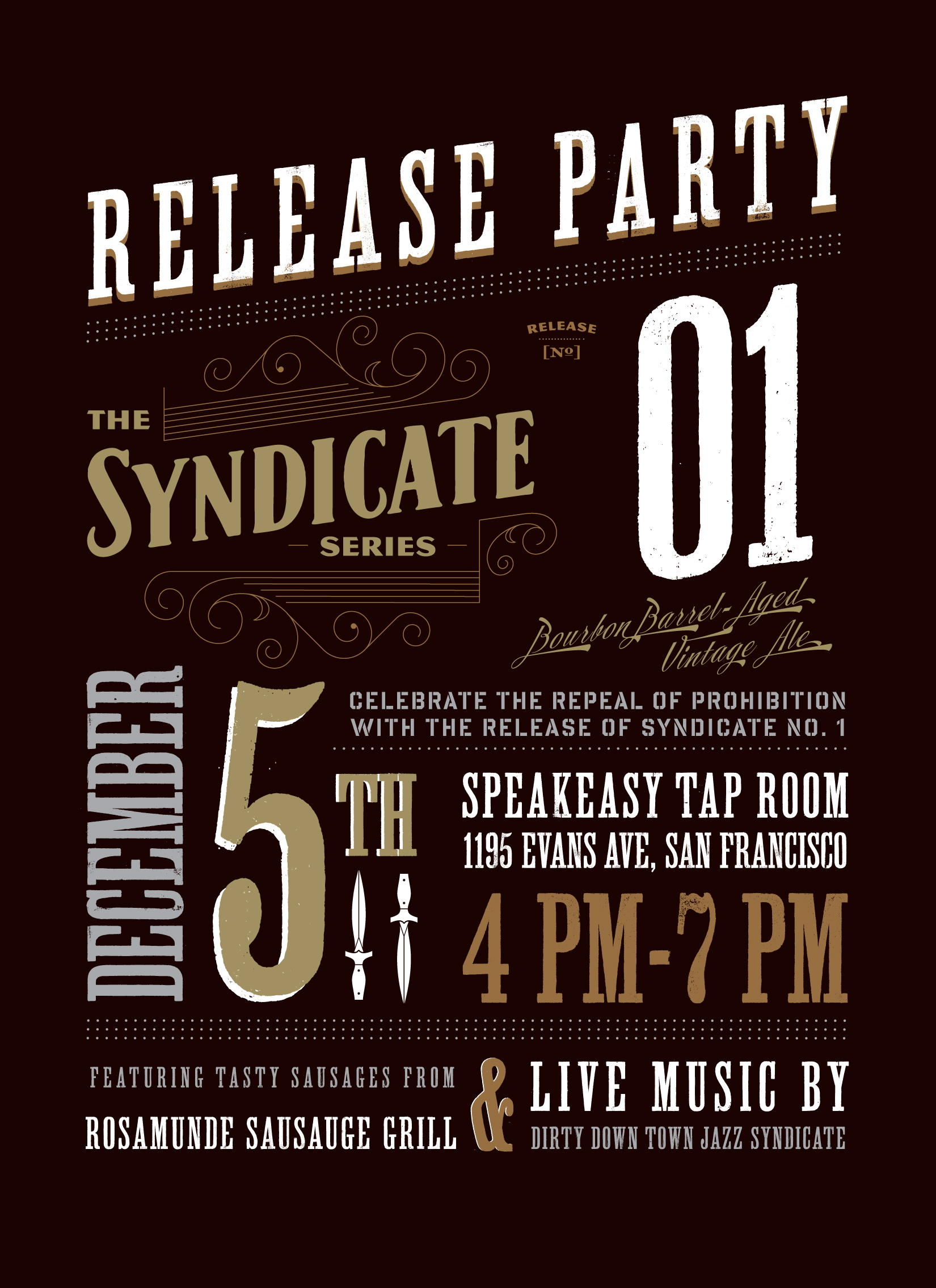 Speakeasy Releases Syndicate No. 01 Blend